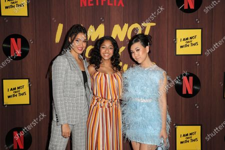 Lee Rodriguez, Maitreyi Ramakrishnan and Ramona Young