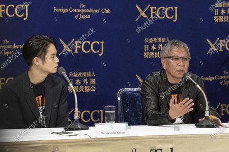 Masataka Kubota and Takashi Miike