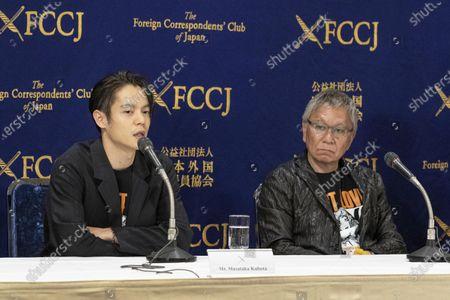 Stock Picture of Masataka Kubota and Takashi Miike