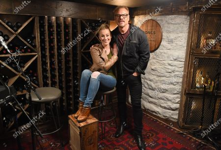 Stock Photo of Exclusive -  Kellie Pickler stops by the Circle Television Network, 'Phil Vassar's Songs from the Cellar', in Nashville, TN. Airing in July 2020 on Circle @PhilVassarSFTC @circleallaccess