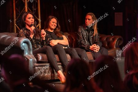 Stock Image of Sam Quek, Liz Johnson and Jordan Nobbs