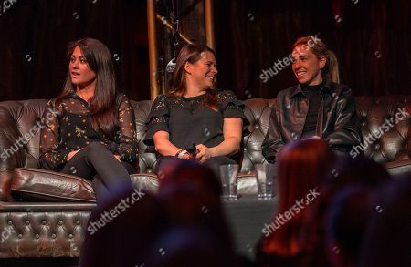 Stock Photo of Sam Quek, Liz Johnson and Jordan Nobbs