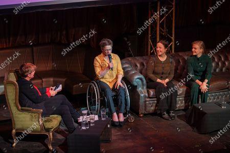 Clare Balding OBE, Emma Wiggs, Anna Kessel MBE and Harriet Dart
