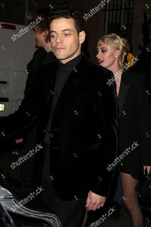 Stock Photo of Rami Malek and Maika Monroe