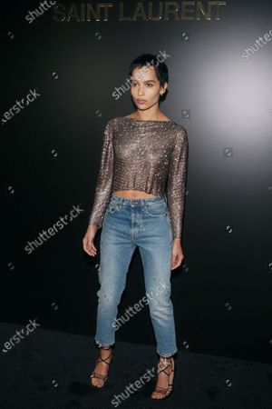 Stock Picture of Zoe Kravitz