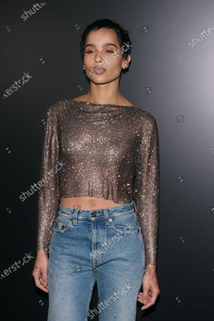 Stock Image of Zoe Kravitz