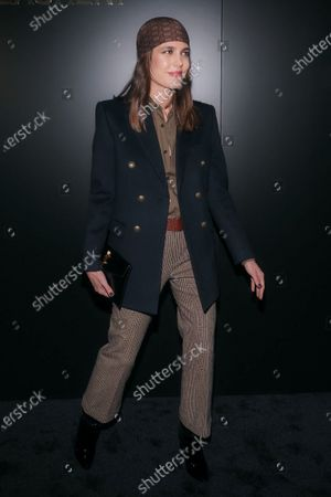 Editorial picture of Saint Laurent show, Front Row, Fall Winter 2020, Paris Fashion Week, France - 25 Feb 2020