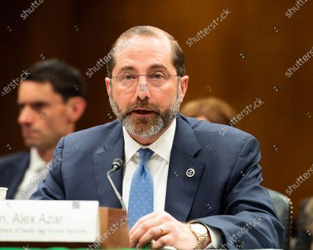 Senate Subcommittee Hearing On Labor Health Human Stockfotos