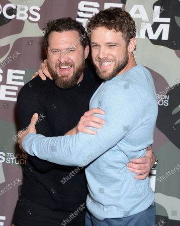 AJ Buckley and Max Thieriot
