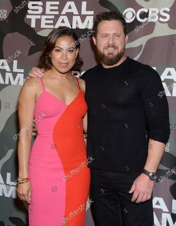 Toni Trucks and AJ Buckley