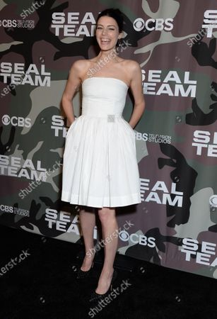 Editorial photo of 'SEAL Team' TV show premiere, Arrivals, ArcLight Cinemas, Los Angeles, USA - 25 Feb 2020