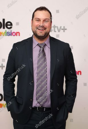 """Max Adler at Apple's """"Visible: Out on Television"""" screening at The West Hollywood EDITION. """"Visible: Out on Television"""" is available to watch now on Apple TV+."""