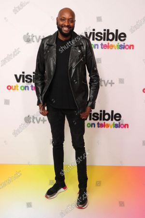 """Stock Picture of Patrik-Ian Polk at Apple's """"Visible: Out on Television"""" screening at The West Hollywood EDITION. """"Visible: Out on Television"""" is available to watch now on Apple TV+."""