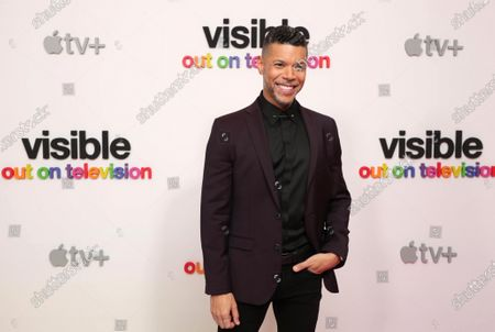 """Wilson Cruz, Executive Producer, at Apple's """"Visible: Out on Television"""" screening at The West Hollywood EDITION. """"Visible: Out on Television"""" is available to watch now on Apple TV+."""