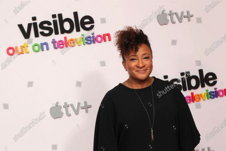 """Wanda Sykes, Executive Producer, at Apple's """"Visible: Out on Television"""" screening at The West Hollywood EDITION. """"Visible: Out on Television"""" is available to watch now on Apple TV+."""