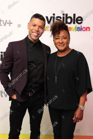 """Stock Photo of Wilson Cruz, Executive Producer and Wanda Sykes, Executive Producer, at Apple's """"Visible: Out on Television"""" screening at The West Hollywood EDITION. """"Visible: Out on Television"""" is available to watch now on Apple TV+."""