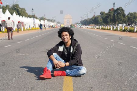Editorial image of Papon photocall, New Delhi, India - 24 Feb 2020