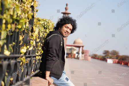 Stock Image of Bollywood playback singer Angaraag Mahanta