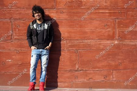 Editorial picture of Papon photocall, New Delhi, India - 24 Feb 2020