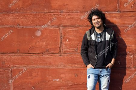 Editorial photo of Papon photocall, New Delhi, India - 24 Feb 2020