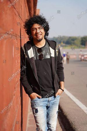 Stock Picture of Bollywood playback singer Angaraag Mahanta