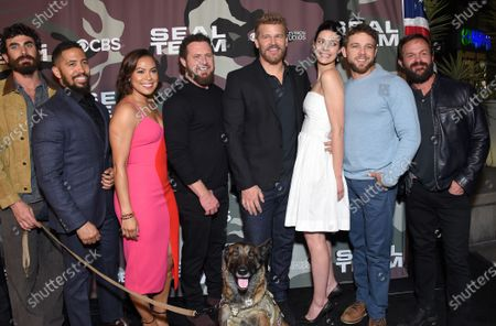 Justin Melnick, Neil Brown Jr., Toni Trucks, AJ Buckley, David Boreanaz, Jessica Pare, Max Thieriot and Judd Lormand