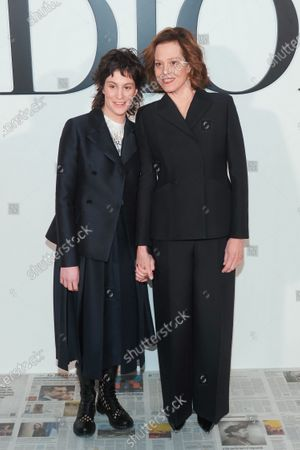 Sigourney Weaver and her daughter Charlotte Simpson