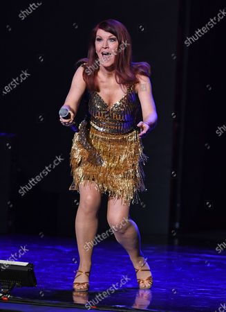 Editorial image of 'Dancing With The Stars Live' TV show, Seminole Hard Rock Hotel and Casino, Los Angeles, USA - 25 Feb 2020