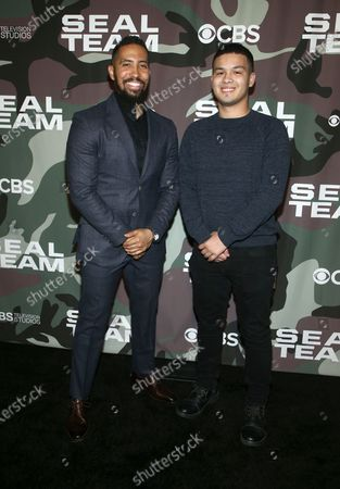 Stock Picture of Neil Brown Jr. and Ethan Brown