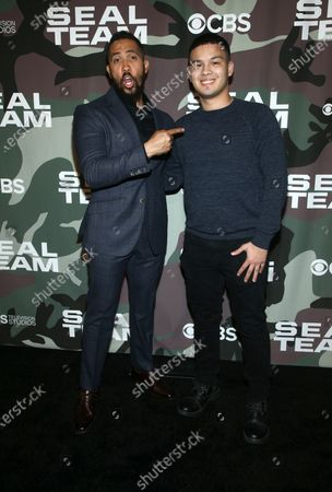 Editorial picture of 'SEAL Team' TV show premiere, Arrivals, ArcLight Cinemas, Los Angeles, USA - 25 Feb 2020