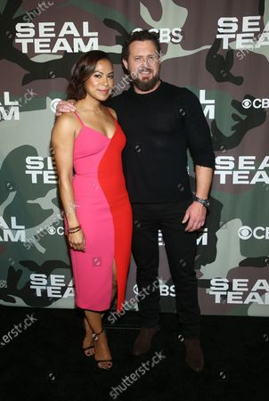 Toni Trucks, AJ Buckley