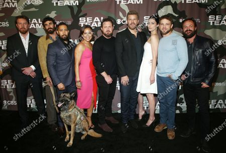 Justin Melnick, Neil Brown Jr., Toni Trucks, AJ Buckley, David Boreanaz, Jessica Paré, Max Thieriot and Judd Lormand