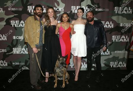 Justin Melnick, Rachel Boston, Toni Trucks, Jessica Paré and Judd Lormand