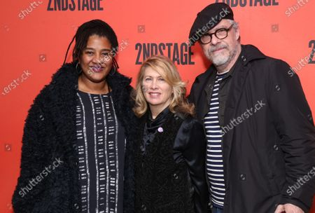 Stock Picture of Lynn Nottage, Carole Rothman, and guest