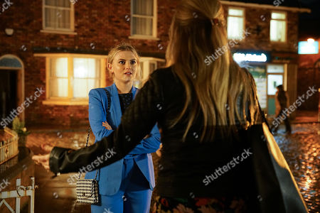 Ep 10017 Wednesday 26th February 2020 - 2nd Ep Sarah Platt, as played by Tina O'Brien, implores Bethany Platt, as played by Lucy Fallon, not to let her feelings for Daniel stand in the way of her career.