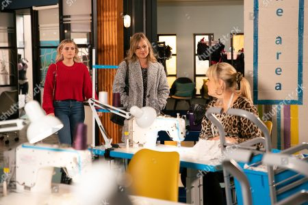 Ep 10015 Monday 24th February 2020 - 2nd Ep Bethany Platt, as played by Lucy Fallon, tells Sarah Platt, as played by Tina O'Brien, she believes Ray is blocking all her attempts to get restaurant jobs so Sarah offers her a short-term role setting up Underworld's sales arm.