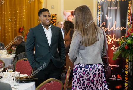 Ep 10026 Monday 9th March 2020 - 1st Ep When a reporter approaches James Bailey, as played by Nathan Graham, and reveals that there are rumours about his sexuality circulating on social media, James is utterly floored. Insisting that he's not gay, James hurries away, masking his panic.