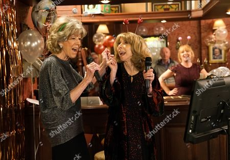 Ep 10018 & 10019 Friday 28th February 2020 Audrey Roberts, as played by Sue Nicholls, Bethany Platt, Carla, Cathy, Gail Rodwell, as played by Helen Worth, Leanne, Liz, Mary Taylor, Sally and Toyah gather at the Rovers for Sarah's hen do. But things don't go quite to plan when Beth Tinker storms into the Rovers and pointing the finger at Bethany, reveals how she's planning to run off to London with Daniel and Bertie.