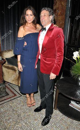 Lisa Snowdon and Stephen Webster