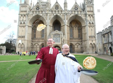 Dean Chris Dalliston (left) and head verger David Wood