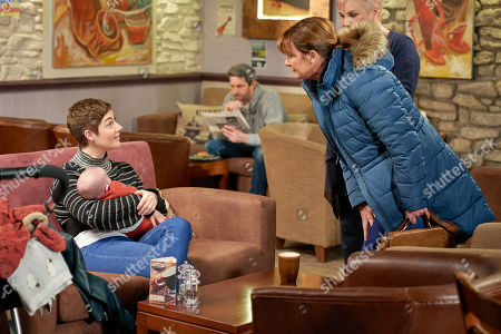 Ep 8750 Thursday 5th March 2020 - 2nd Ep Victoria Barton's, as played by Isobel Hodgins, worried when Wendy, as played by Susan Cookson, crosses a boundary by calling herself Harry's 'nana', but she allows her to babysit Harry so that they can spend time together with Luke.