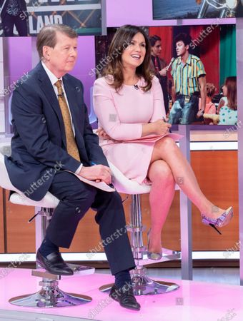Editorial picture of 'Good Morning Britain' TV show, London, UK - 26 Feb 2020