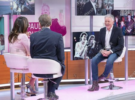 Bill Turnbull and Susanna Reid with Paul Young