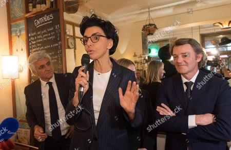 Editorial image of Rachida Dati mayoral election campaign event, Paris, France - 25 Feb 2020