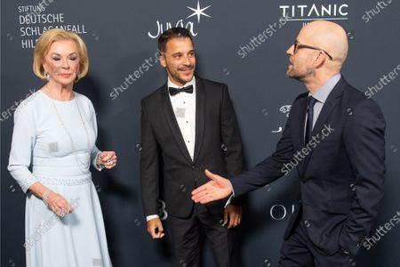 Liz Mohn, Kostja Ullmann, Jurgen Vogel