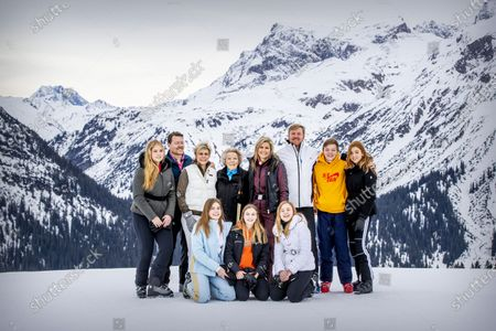 Editorial image of Dutch royal family winter holiday photocall, Lech, Austria - 25 Feb 2020