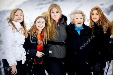 Editorial picture of Dutch royal family winter holiday photocall, Lech, Austria - 25 Feb 2020