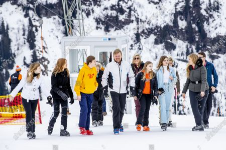 Editorial photo of Dutch royal family winter holiday photocall, Lech, Austria - 25 Feb 2020