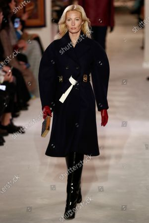 Editorial photo of Lanvin - Runway - Paris Fashion Week Women's F/W 2020/21, France - 26 Feb 2020