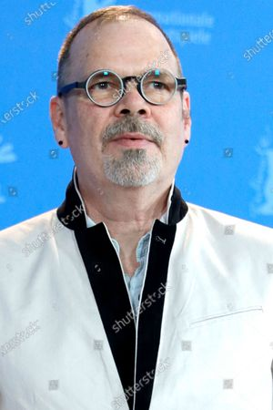 David France poses during the 'Welcome to Chechnya' photocall during the 70th annual Berlin International Film Festival (Berlinale), in Berlin, Germany, 26 February 2020. The movie is presented in the Panorama section at the Berlinale that runs from 20 February to 01 March 2020.